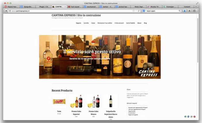 ecommerce Cantina Express