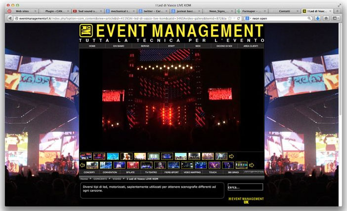 Sito Event Management