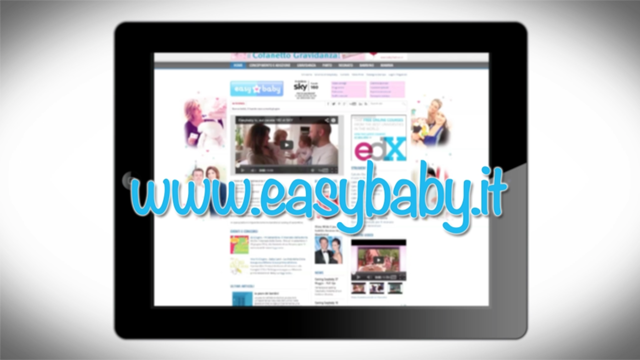 Promo www.easybaby.it ipad