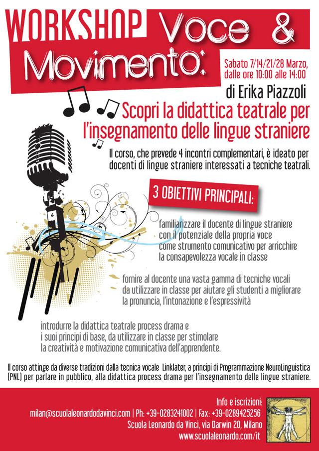 Poster workshop E. Piazzoli